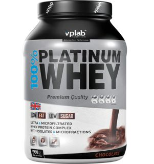 VP Laboratory Сывороточный протеин VP Laboratory VP 100% Platinum Whey (908гр)
