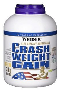 Weider Гейнер Weider Crash Weight Gain (3000гр)