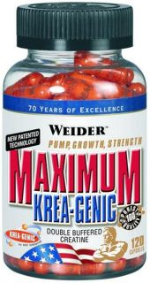 Weider Креатин Weider Maximum Krea-Genic (120 капс)