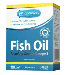 VP Laboratory Жирные кислоты VP Laboratory Fish Oil 1000мг (60капс)