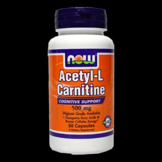 NOW Карнитин NOW Acetyl L-Carnitine 500 mg  (100 капс)