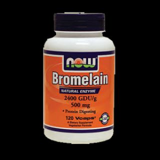 NOW NOW Bromelain (120 капсул)