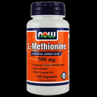 NOW Метионин NOW L-Methionine (100 капс)