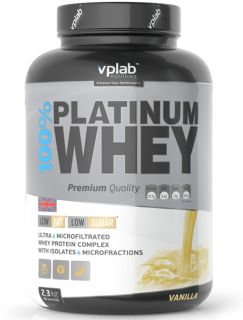 VP Laboratory Сывороточный протеин VP Laboratory 100% Platinum Whey (2300гр)
