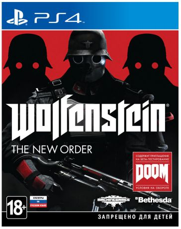 Bethesda Softworks Wolfenstein: The New Order (русские субтитры)
