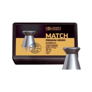 JSB Match Premium Light 4,5 мм 0,475 грамма (200 шт.)