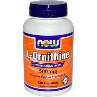 NOW Витамины NOW L-Ornithine 500 mg (120 капс)
