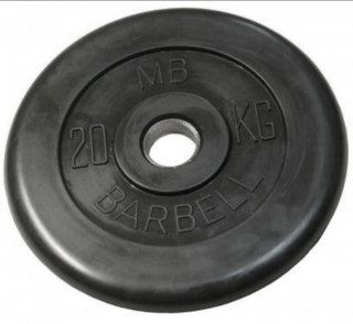 Mb Barbell 20 кг 31мм