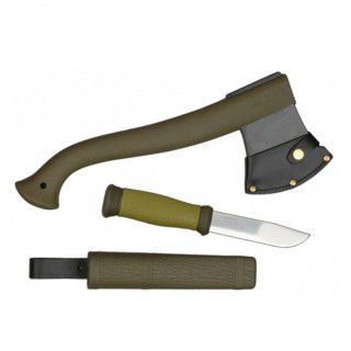 Fiskars MORA Outdoor Kit MG нож Mora 2000 + топор (R36869)