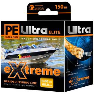 Aqua PE Ultra Extreme Yellow 150m