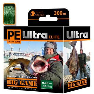Aqua PE Ultra Elite Big Game Dark Green 300m
