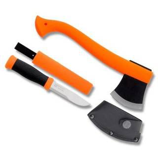 Mora Morakniv Outdoor Kit Orange нож Mora 2000 + топор (R36868)