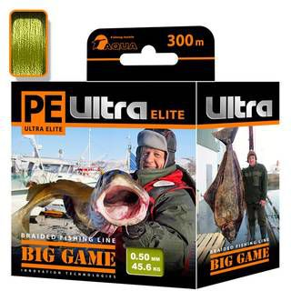 Aqua PE Ultra Elite Big Game Olive 300m