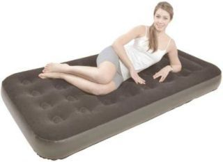 Relax Flocked air bed Twin JL027273NG