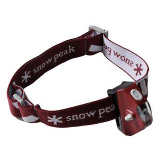 Snow Peak Mola Headlamp Wine Red