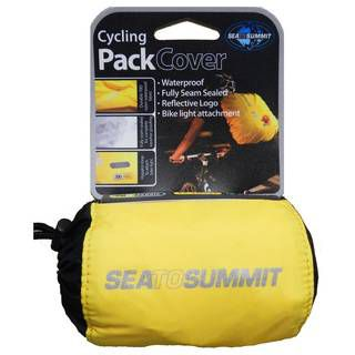 Sea to Summit Cycling Pack Cover X-Small - Fits 15-30 Litre Packs Yellow, на рюкзак