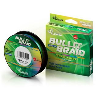 Allvega Bullit Braid Multi Color 150м 0,10mm