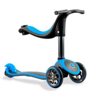 Y-Volution Y-Scoo Globber RT My free Seat 4 in 1 Titanium