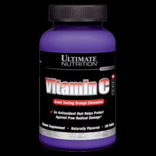 Ultimate Nutrition Витамины Ultimate Vitamin C (120таб)