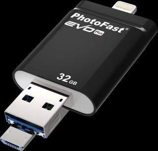 PhotoFast i-Flashdrive EVO Plus 32Гб