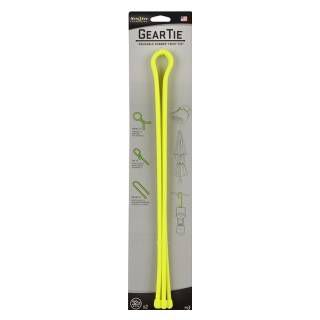 "Nite Ize Gear Tie 32"" 2pk Neon Yellow"