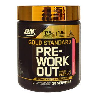 Optimum Nutrition Предтренировочный комплекс Optimum Nutrition Gold Standard PRE-Workout (300гр)
