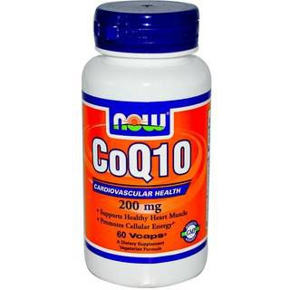 NOW Витамины NOW CoQ10 200 mg (60капс)
