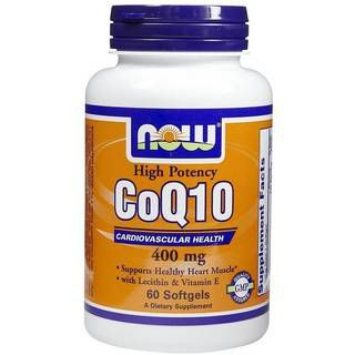 NOW Витамины NOW CoQ10 400 mg (60капс)