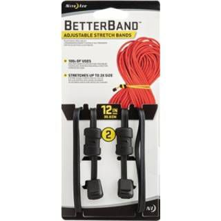 "Nite Ize BetterBand 12"" Black BDS12-01-2R3"