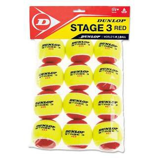 Dunlop Stage 3 (Red) 605054 12 шт.