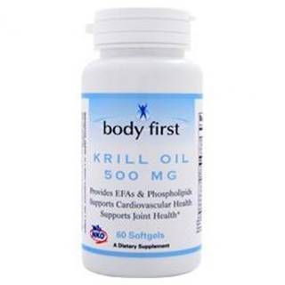 Body First Жирные кислоты Body First Krill Oil 500 mg (60капс)