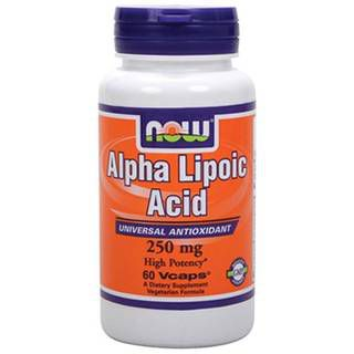 NOW Витамины NOW Alpha Lipoic Acid 250 mg (125капс)