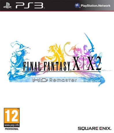 Square Enix Final Fantasy X/X-2 (HD Remaster, Standard Edition, русская документация)