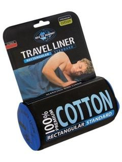 Sea to Summit Premium Cotton Travel Liner-Standard (Rectangular)