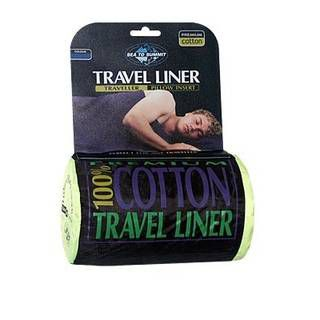 Sea to Summit Premium Cotton Travel Liner-Traveller (with Pillow slip)