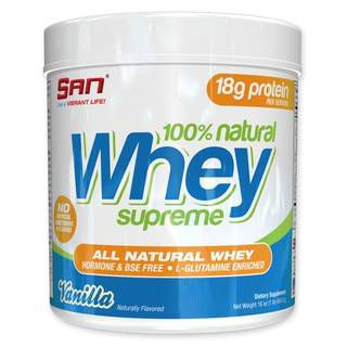 SAN Протеины SAN 100% Natural Whey Supreme (450 гр)
