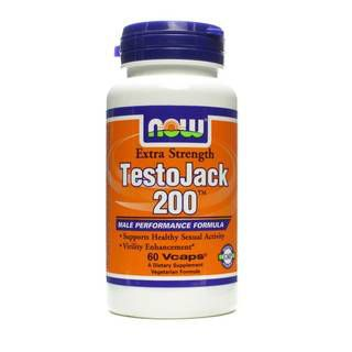 NOW NOW TestoJack 200 (60капс)