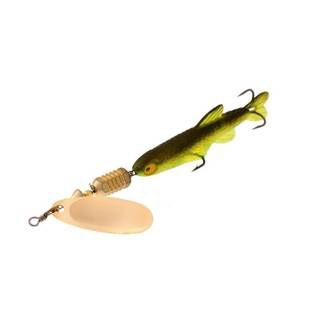 Norstream Combat Minnow №0 gold green minnow