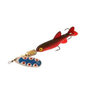 Norstream Combat Minnow №0 tw blue red minnow