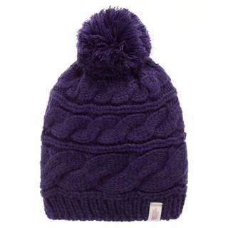 The North Face Triple Cable Pom Beanie фиолетовый ONE T0CLN6