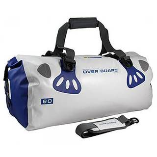 Overboard OB1013WHT Waterproof Boat Master Duffel Bag 60 Litres