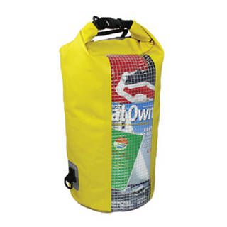 Overboard OB1057Y Waterproof Dry Tube Bag with Window 20L
