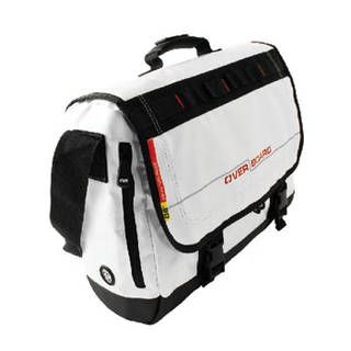 Overboard OB1079WHT Waterproof Adventure Messenger Bag