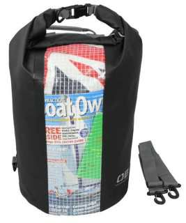 Overboard OB1058BLK  Waterproof Dry Tube Bag with Window 30L