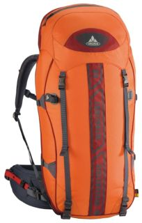 Vaude Versametric Ultralight 60+10 anthracite/ orange