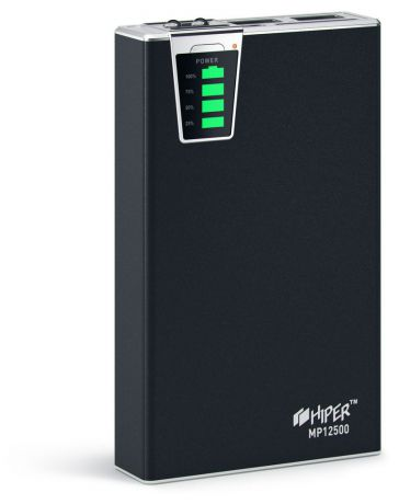 HIPER Power Bank MP12500 Black