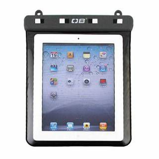 Overboard OB1086BLK Waterproof iPad Case with Shoulder Strap