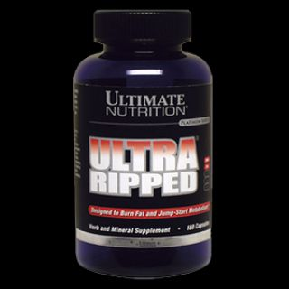Ultimate Nutrition Жиросжигатель Ultimate Ultra Ripped (180 капс)
