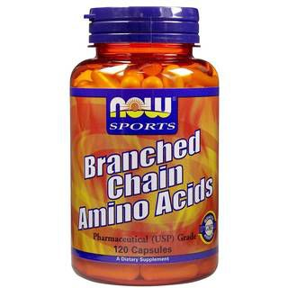 NOW BCAA NOW Branched Chain Amino Acids (120капс)
