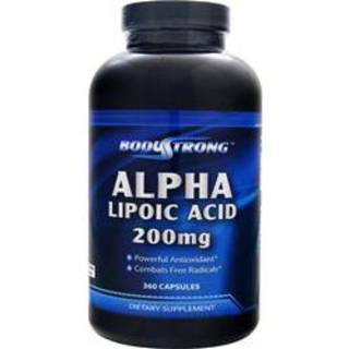 Body Strong Витамины Body Strong Alpha Lipoic Acid 200mg (360капс)